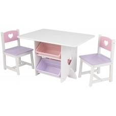 KidKraft Heart - набор детской мебели