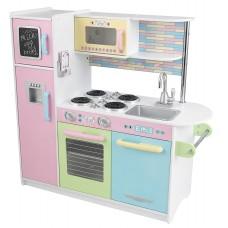 KidKraft Пастель Pastel Uptown Espresso Kitchen - детская кухня