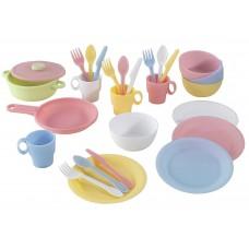 KidKraft Пастель Pastel - набор посуды