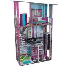 KidKraft Гламурный Glamorous Dollhouse - кукольный домик с мебелью