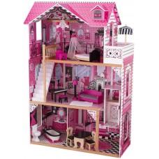 KidKraft Амелия (в подарочной упаковке) - кукольный домик с мебелью