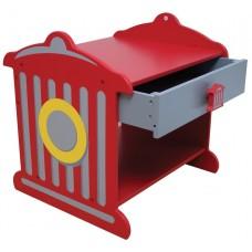 KidKraft Пожарная станция Fire Hydrant Toddler Table - прикроватный столик