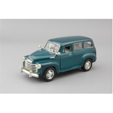 Машинка Kinsmart CHEVROLET Suburban (1950), green mettalic