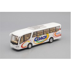 Машинка Kinsmart Автобус Coach, white