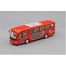 Машинка Kinsmart Автобус Coach, red
