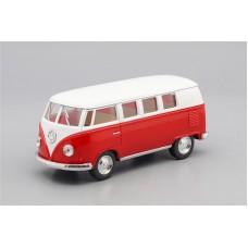 Машинка Kinsmart VOLKSWAGEN Classical Bus (1962), white / red