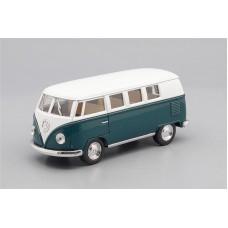 Машинка Kinsmart VOLKSWAGEN Classical Bus (1962), white / green