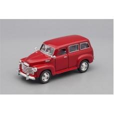 Машинка Kinsmart CHEVROLET Suburban Carryall (1950), cherry metallic