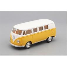 Машинка Kinsmart VOLKSWAGEN Classical Bus (1962), light yellow / white