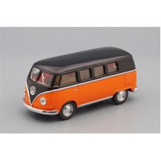 Машинка Kinsmart VOLKSWAGEN Classical Bus (1962), orange / black