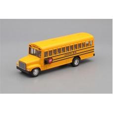 Машинка Kinsmart Школьный автобус School Bus, желтый