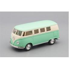 Машинка Kinsmart VOLKSWAGEN Classical Bus (1962), mint / beige