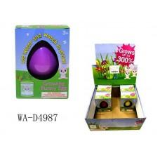 """Яйцо растущее в воде """"Кролик"""", 12 шт в дисплее, цена за 1 шт"""