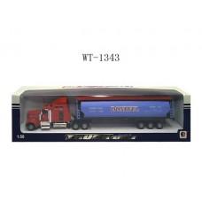 Грузовик металлический, 1:50 (Китай, 1807-1D)