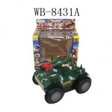 Танк эл/мех, звуковые и световые эффекты, пластмасса, в коробке, 15,3х11,8х16см (Китай, 2102B/2103Bпц)
