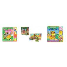Книжка с мягкими пазлами Как говорят животные в ассортименте, 25.5x3x25.5см