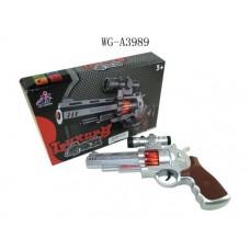 Пистолет, эл/мех, световые и звуковые эффекты , 25.5x17x5 см (Китай, 239-2ab)