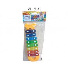 Ксилофон, 42x15x3 см (Китай, 30162AB)