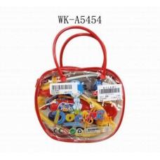 Набор доктора, 11 предметов, пластмасса, в сумке, 17,5х4,5х21см (Китай, 501-1)