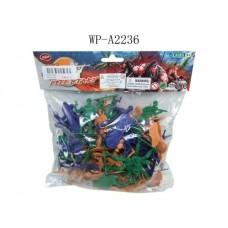 Набор солдатиков, в пакете, 45 предметов (Китай, 521-7)