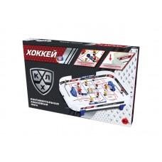 Хоккей настольный КХЛ 58*39*6 см, из пластмассы+элементы из металла, от 5 лет (Китай, 68200/2)