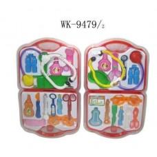 "Набор ""Доктор"", пластмассовый, 2 вида, 39,5х23,5х3,5см (Китай, 806AB)"