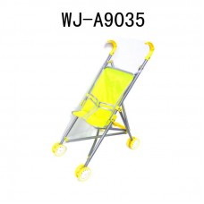 Коляска для куклы (желтый цвет), 41x28x56см (Китай, 886AC-Y)