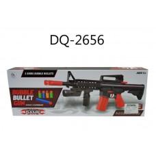 Автомат, стрелющий мягкими снарядами, 48x18x5,5см, без эффектов, в наборе 9 снарядов (Китай, 9938-1)