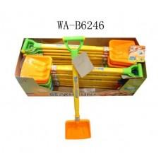 Лопата пластмассовая с выдвижной ручкой, 18 видов, 94.5cm (цена за 1 штуку) (Китай, AJ004-1BHпц)