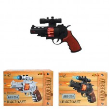Пистолет со звуковыми и световыми эффектами, 22,5x5x16 см (Китай, ARS-254)