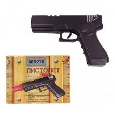 Пистолет, со световыми и звуковыми эффектами, на батарейках (Китай, ARS-276(DQ-2497))