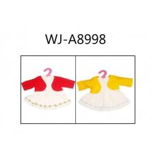 Одежда для кукол: платье с кофточкой 23x30x1см (Китай, GC16-2)