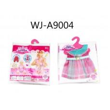 Одежда для кукол: платье, 25,5x36x1см (Китай, GC16-3)