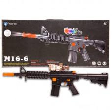 Автомат в наборе со снарядами, 48x6x22см без эффектов, (Китай, M16-6)