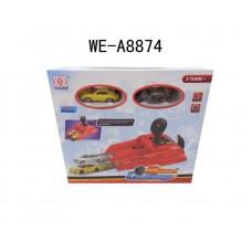 Игровой набор Speed Challenge - пусковое устройство и металлические машинки (Китай, SD901-2)