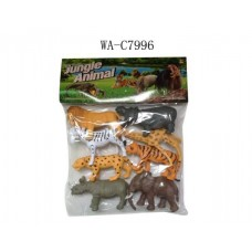 Набор диких животных, 8шт, 28.5x40см (Китай, Y182)