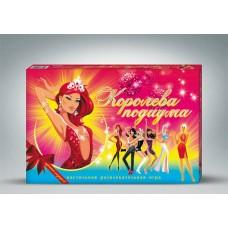 """Игра """"Королева подиума"""" (Россия), поле, кубик, 4 фишки, 123 карточки, инструкция (Лапландия, 97854)"""