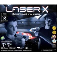 Набор игровой Laser X Микро (2 бластера, 2 мишени)