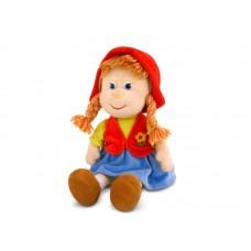 Красная шапочка малая музыкальная 22 см, звук «Красота вокруг какая» (LAVA, Л419A)