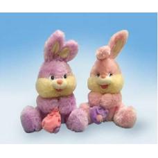 """Зайчик с мешочком музыкальный 25 см, звук""""Я маленький зайчик"""" (LAVA, Л530)"""