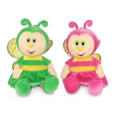 """Бабочка малая музыкальная 18,5 см, звук """"Я увидеть мир хочу"""" (LAVA, Л8595)"""