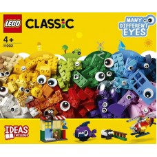Конструктор LEGO CLASSIC Кубики и глазки