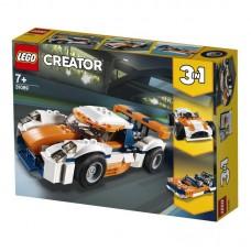 Конструктор LEGO CREATOR Оранжевый гоночный автомобиль