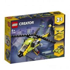 Конструктор LEGO CREATOR Приключения на вертолёте
