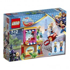 Конструктор LEGO SUPER HERO GIRLS Харли Квинн™ спешит на помощь
