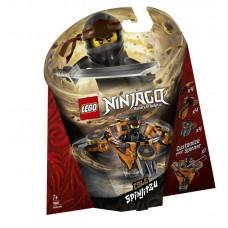 Конструктор LEGO NINJAGO Коул: мастер Кружитцу