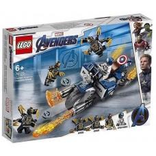 Конструктор LEGO SUPER HEROES Капитан Америка: Атака Аутрайдеров