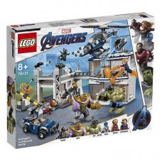 Конструктор LEGO SUPER HEROES Битва на базе Мстителей