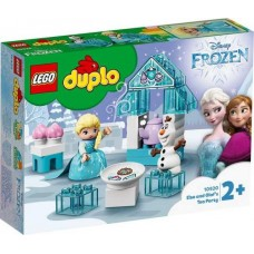 Конструктор LEGO DUPLO Princess TM Чаепитие у Эльзы и Олафа