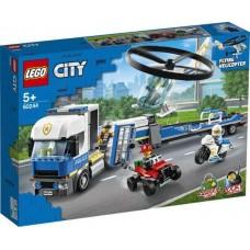 Конструктор LEGO CITY Police Полицейский вертолётный транспорт